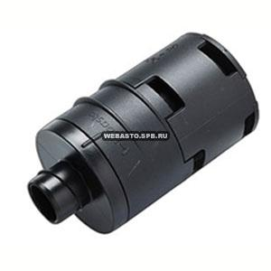 98141A Глушитель на входе (пластик) 22 мм