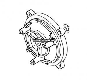 286354Z Держатель мотора (кронштейн)