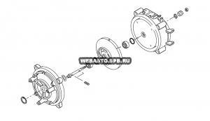 378321Z Комплект монтажный (для вала) DBW 2020/300