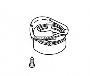 350427Z патрубок забора воздуха для горения д 80 (штуцер)/ СЕ