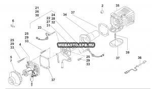 графический каталог запчастей для Air Top 2000 ST дизель 12В