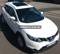 Электрический люк Hollandia 300 Entry + RSR. Установка на Nissan Qashqai.