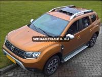 Электрический люк Hollandia 300 Comfort + RSR. Установка на Renault Duster.