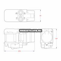 габариты webasto thermo top evo 5 бензин