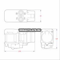 габариты webasto thermo top evo 5 дизель
